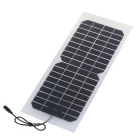 SUNWALK Ultralight Semi-flexible 10W 18V Solar Charger for Battery