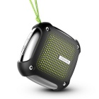 Morul H3 Waterproof Shockproof Bluetooth Speaker w/ TF Slot, MIC-Black