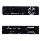 High Impedance Portable Headphone Amplifier - Black
