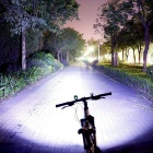 3LED diamante impermeable blanco neutro 3 -Mode LED de luz de la bici ( 8.4V )