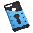 Protective TPU + PC Back Cases w/ Holder Stand for IPHONE 7 PLUS