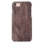Protective Wood Grain PC Hard Back Case Cover for IPHONE 7 - Brown