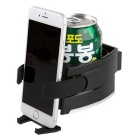Car Air Conditioner Mount Mobile Phone Rack Beverage Rack - Black