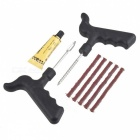 Tubeless Auto Bike Car Tire Tyre Cement Tool Puncture Plug Repair Kit
