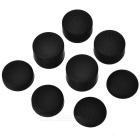 PC Cap Cover for XBOX 360 Controller + More - Black (8PCS)
