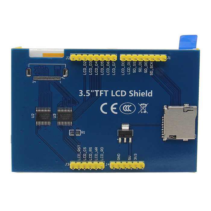 Display 5 inch TFT Arduino Touch Shield w/SSD1963 for Mega