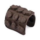 Silicone Animal Chocolate Sweet Candy Soap Ice Cube Tray Mould