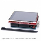 "OPEN-SMART 2.8"" TFT LCD Touch Screen Expansion Shield w/ Touch Pen"