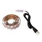 USB 5V 20W 5050 RGB 200CM 120LED Full Color Decoration Lamp