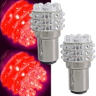 QOOK T25 1157 36-LED Red Car Turn Signal Light Bulb Lamp (2 PCS)