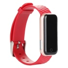 Q50 Heart Rate Monitor Smart Bracelet Waterproof w/  Pedometer - Red