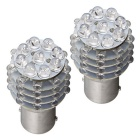 QOOK Car 1157 Amarillo 45-LED Turn Señal Estacionamiento Luces traseras (2PCS)