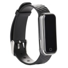 Q50 Heart Rate Monitor Smart Bracelet Waterproof w/  Pedometer - Black