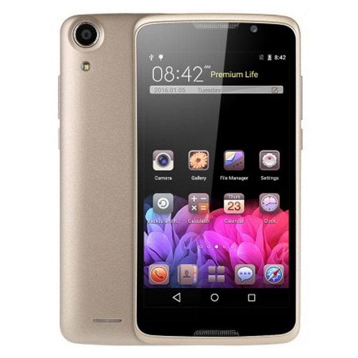 "H828 5.0"" Android 5.1 Smartphone w/ 1GB RAM, 8GB ROM - Golden"