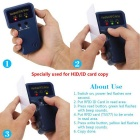 Handheld 125KHz RFID ID Card Writer w/ 5 PCS Writable T5577 Cards