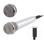 Portable Outdoor Microphone - Silvery White