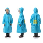 Naturehike Rainproof Children Raincoat Plastic EVA Rain Coat - Blue(L)