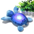 E-SMART Creative Tortoise Style Projection Light Night Lamp - Sapphire