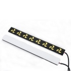 Waterproof Automotive White LED Lights COB Daytime Running Lights