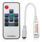 Jiawen 10-Key LED RGB Light Strip RF Remote Controller (DC5~24V)