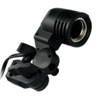 E27 Nylon Universal Single Lamp Holder - Black