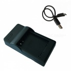 6L Micro USB Mobile Camera Battery Charger for Canon - Black