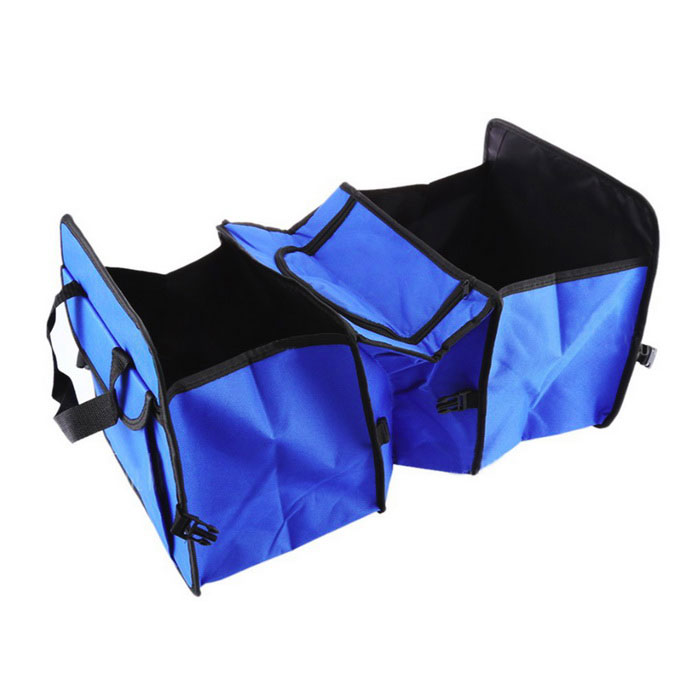 Car Trunk Collapsible Storage Box - Blue