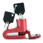 Motorcycle Bicycle Disc Brake Lock Anti-theft Lock with Fixed Bracket