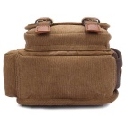 KAUKKO FH07 Outdoor 5L Men Canvas Sling Waist Leg Bag - Khaki