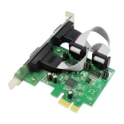 IOCREST SI-PEX15055 RS-232 2-Port PCI Express Card