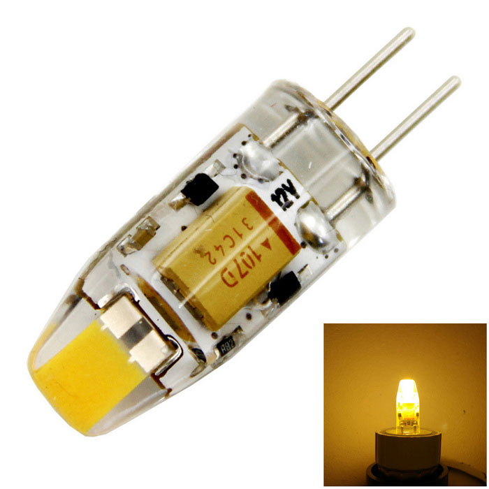 meshion G4 Dimmable 2W 200lm 1-COB LED Warm White Light Bulb Lamp