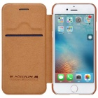 NILLKIN QIN Series Protective PU Leather + PC Case for IPHONE7 - Brown