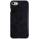 NILLKIN QIN Series Protective PU + PC Case for IPHONE 7 - Black