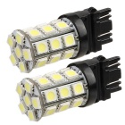 QOOK Cold White 5050 SMD 27-LED Tail Backup Turn Signal Lights (2PCS)