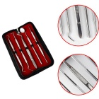 HT0050 5-in-1 Stainless Steel Dental Tool Kit Oral Care Set