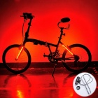 24-LED Bicycle Light Hot Wheels Magic Warning Light (3 * AA)