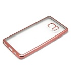 Electroplated TPU Case for Samsung Galaxy NOTE 7 - Rose Gold