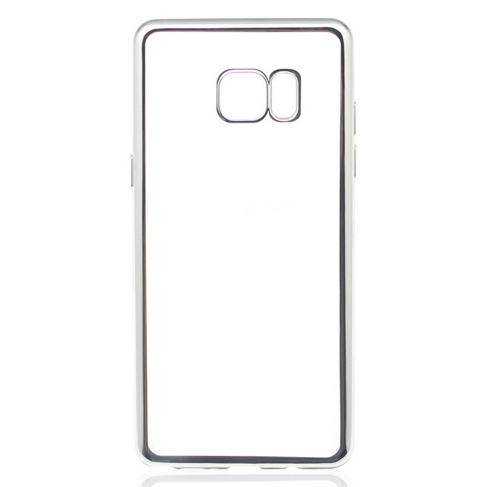 Electroplated TPU Case for Samsung Galaxy NOTE 7 - Silver