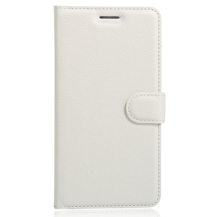 Lichee Pattern Protective Case for  Wiko U Feel - White
