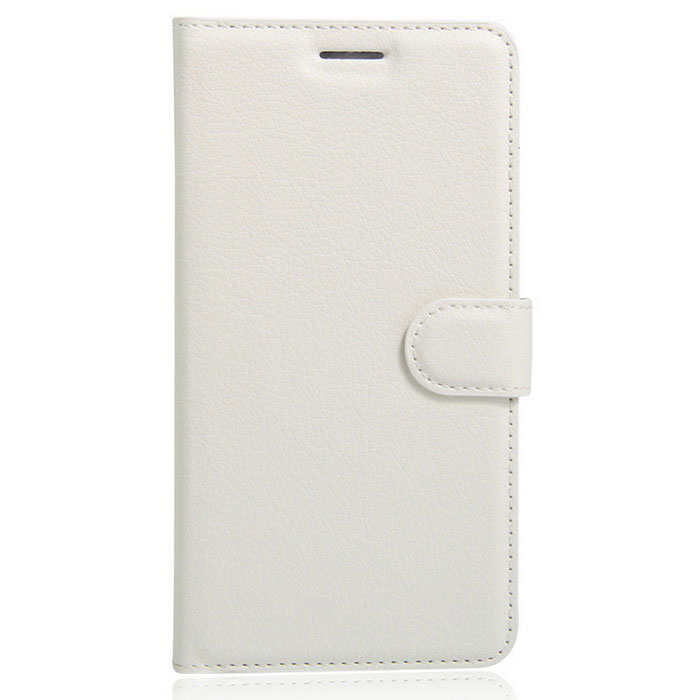 Lichee Pattern Protective Case for  Wiko Tommy - White