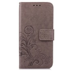 Lucky clover embossed Pattern Wallet Case for Samsung Galaxy S7 Edge
