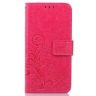 Fashionable Flip-Open PU Leather Full Body Case Outer Cover w/ Stand & Card Slots