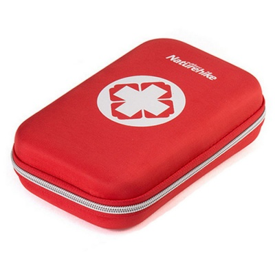 Naturehike Outdoor Emergency First Aid Kit Bag - Red