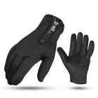 Cool Change Non-slip Damping Long Finger Gloves - Black (L / Pair)