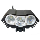 N3 3-LED Water Resistant 4-Mode Neutral White LED Bike Light