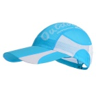 UV-Protective Breathable Lightweight Peaked Cap for Outdoor Sports