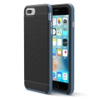 Protective Plastic Back Case for IPHONE 7 PLUS - Dark Blue + Black
