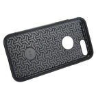 prima de capa dual + PC caso de TPU para el iphone 7 PLUS - negro