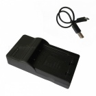 2L Micro USB Mobile Camera Battery Charger for Canon - Black