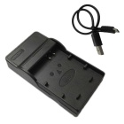 10L Micro USB Mobile Camera Battery Charger for Canon - Black